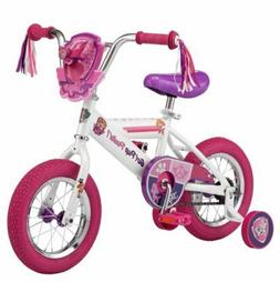 "12"" Nickelodeon Girls Paw Patrol Chase Kids Bicycle Sturdy A"
