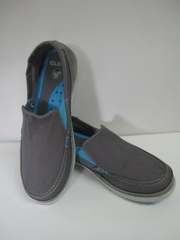 CROCS 14392 Mens Walu Accent Sz m8 Slip-on Comfort Loafer Ch