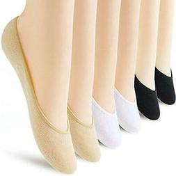 6 Pairs No Show Socks Women No Show Liner Socks Womens No Sh