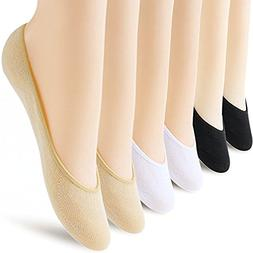 6 Pairs No Show Socks Women No Show Liner Socks Womens No Sh