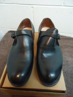 Dehner 61538 Black Monk Strap Loafers Size 11 D