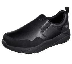 Skechers Black shoes Work Safety Men Memory Foam Slip Resist