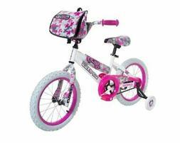 Dynacraft 8054-65TJ Decoy Girls Camo Bike, 16-Inch, White/Pi