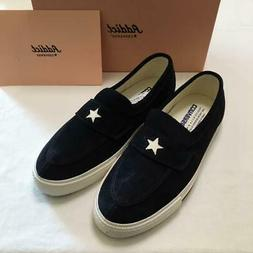 90S Reprint Converse Addict One Star Loafers Suede Navy Men