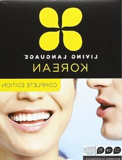 Living Language Korean, Complete Edition: Beginner through a