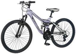 Mongoose R3577 Girl's Maxim Full Suspension Bicycle