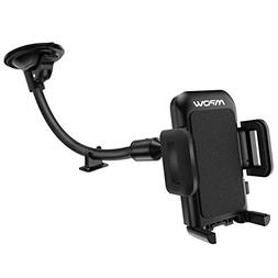 Mpow 033 Cell Phone Holder for Car, Windshield Long Arm Car