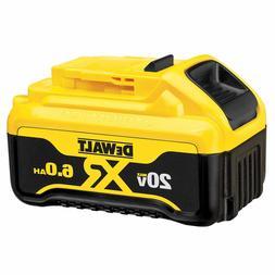 New Dewalt DCB206 20V 20 Volt Max XR 6.0Ah Lithium Ion Batte