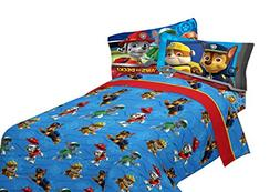 Nickelodeon PAW Patrol Ruff Ruff Rescue Sheet Set, Twin