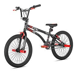 X-Games 32022 BMX/Freestyle Bicycle, 20-Inch, Black Red