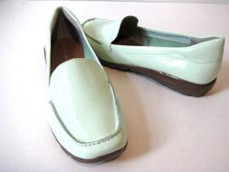 Easy Spirit Abide Light Teal Patent Leather Casual Loafer Wo