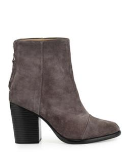 rag & bone Ashby Gray Suede Boots 35