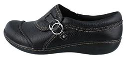 Clarks Ashland Indigo Casual Loafers 7.5 M, Black Tumble