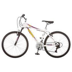 Mongoose 24 inches Girl's ATB Silva Bike Bicycle - White