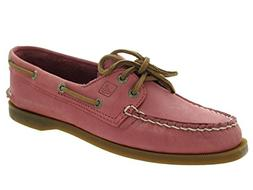 Sperry Top-Sider Women's Authentic Original 2-Eye Washed Red