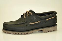 Timberland Authentics Classic 3-Eye Lug Boat Shoes Loafers M