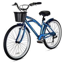 Kent Bay Breeze 7-Speed Women's Cruiser Bicycle, 26-Inch