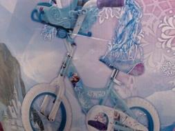 Girls' Bicycle Huffy Disney Frozen Cruiser Bike with Sleigh-