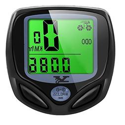 SY Bicycle Speedometer and Odometer Wireless Waterproof Cycl