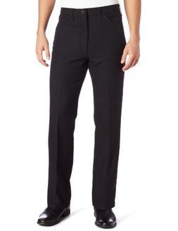 Wrangler Men's Big Wrancher Dress Pant Black, Black, 44x30