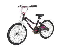 """Monster High Girls Bike, 20"""", Black/White/Pink"""