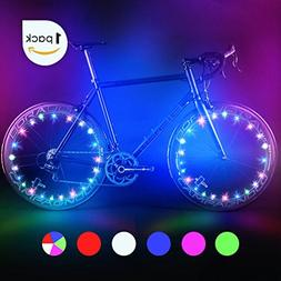 Bodyguard Bike Wheel Lights - Auto Open and Close - Ultra Br