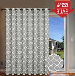 blackout printed curtains extra long