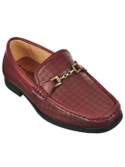 Easy Strider Boys' Loafers - Wine, 7 Toddler