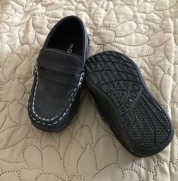 coXist Boys Toddler Size 6 Black Casual Dress Shoes Slip-On