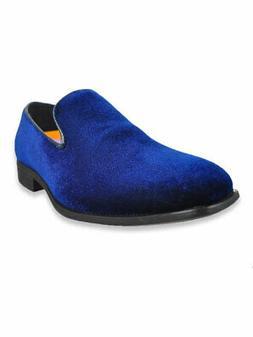 Jodano Collection Boys' Velvet Loafers