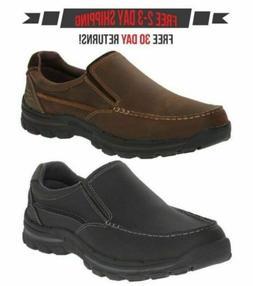 Skechers Braver Rayland Men's Slip-On Loafer Shoes Black or