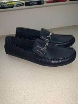 COLE HAAN C26630 PROVINCETOWN BITDRVII LEATHER LOAFERS NAVY