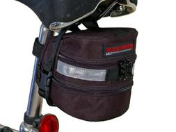 Bushwhacker Carson Black - Bicycle Expandable Seat Wedge w/