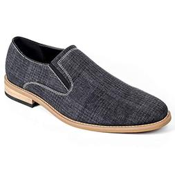 GOLAIMAN Men's Classic Casual Canvas Oxford Dress Shoe Slip-