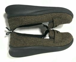 CLOUDSTEPPERS by Clarks Slip-On Loafers size 9.5w Sillian 2.