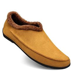 Men's Cotton Lining Comfort Walking Slip-on Casual Loafer US