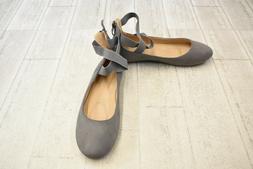 **Bella Marie Dana-20B Flats - Women's Size 10, Gray