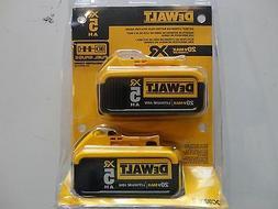 DEWALT DCB205-2 20V 20 Volt Lithium Ion 5.0 AH Battery Packs