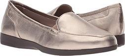 Easy Spirit Women's DEVITT10 Driving Style Loafer, Bronze, 6