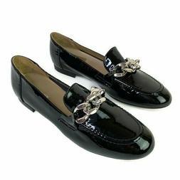 Donald Pliner Nolin Black Patent Leather Loafer