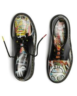 dr martens x basquiat collaboration loafer 1461