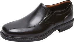 Rockport Dressports Luxe Bike Toe Slip On Shoes  in Black Le