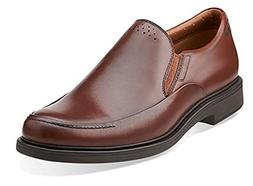 Clarks Men's Drexlar Easy Dark Tan Leather 15 M