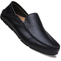 Lapens Men's Driving Shoes Premium Genuine Leather Fashion S
