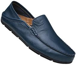 Go Tour Men's Driving Shoes Premium Genuine Leather Fashion
