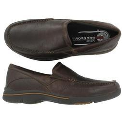 Rockport Men's Eberdon, Dark Brown Leather, 14 M US