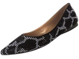 Women's French Sole 'Quad' Embellished Flat, Size 7.5 M - Bl