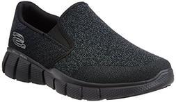 Skechers Men's Equalizer 2.0 Wide Slip-on Loafer,Black,13 4E