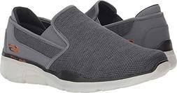 Skechers Men's Equalizer 3.0 Sumnin Loafer, Charcoal/Orange,
