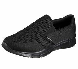Skechers Sport Men's Equalizer Double Play Slip-On Loafer,Bl